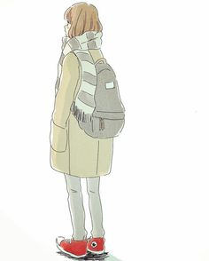 Image shared by Find images and videos about fashion, anime girl and converse on We Heart It - the app to get lost in what you love. Anime Art Girl, Manga Art, Character Art, Character Design, Simple Anime, Cute Art Styles, Estilo Anime, Pretty Art, Aesthetic Art