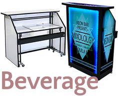 Trade Show Booth Bar, Portable Bar   Google Search LED Bar, Light Up Bar