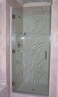Cool Bamboo Forest Frameless Doors Etched Glass Door Sculpture Inspirational Interior Design Netriciaus