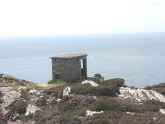 The old coastguard lookout above South Stack
