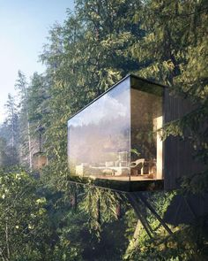 "23.3k Likes, 112 Comments - designboom magazine (@designboom) on Instagram: ""'revugia' is resort in the #forest by matthias arndt, ronny mähl, and krzysztof kuczyński designed…"""