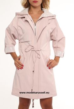Trench Coat Isabell in Zartrosa
