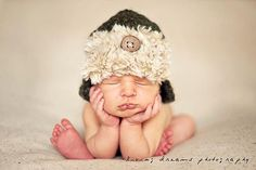 Newborn Baby Hat  Hunter Hat  Baby Boy Hat  Crochet by bitOwhimsy, $34.00