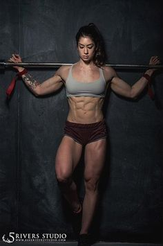 Natasha Aughey, is an absolute savage in the gym and a total inspiration for me.
