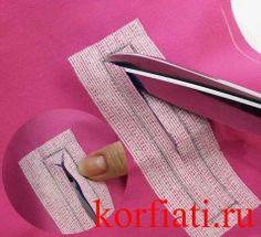 Разрезать карман в уголках - наискосок Dress Patterns, Sewing Patterns, Fashion Sewing, Sewing Hacks, Diy And Crafts, Textiles, Make It Yourself, How To Make, Blog