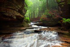 Hocking Hills State Park, Ohio (south of Columbus)