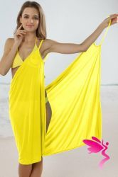 Cheap Sexy Stylish Cross Front Beach Cover-up Yellow online - All Products,Sexy Swimwear,Cover-Ups & Beach Dresses Swimwear Cover Ups, Swimsuit Cover, Bathing Suit Covers, Bathing Suits, Sexy Beach Wear, Yellow Online, Beach Cover Ups, Beach Dresses, Women Swimsuits
