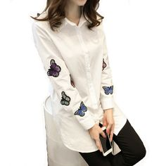 9cb6cfecf52 96 Best embroidery images | Blouses, Shirt blouses, Blouses for women