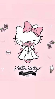 Hello Kitty the loveliest bride (*^◯^*)