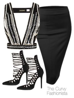 """""""Untitled #665"""" by thecurvyfashionista ❤ liked on Polyvore featuring Doublju and sass & bide"""