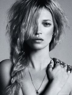 Kate Moss ~is an English model. Moss rose to fame in the early-1990s as part of the Heroin chic model movement, she is known for her waifish figure, and her role in size zero fashion.