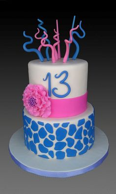 Giraffe print cake | Mick's Sweets Flickr - Photo Sharing!