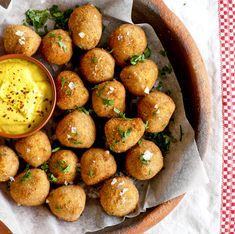 Most of us have a can or two of chickpeas or beans in the cupboard and sometimes you may wonder what to do with them. Well, here's one to try. Wholesome, lightly spiced chickpea and bocconcini fritters. Choose your favourite condiment and get dipping!