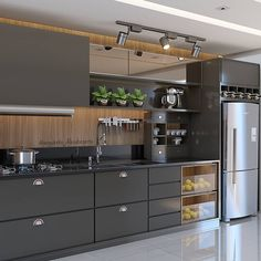 Outstanding modern kitchen room are offered on our web pages. look at this and you wont be sorry you did. Home Decor Kitchen, Kitchen Cabinet Design, 3d Kitchen Design, Kitchen Remodel, Kitchen Decor, Kitchen Modular, Kitchen Room Design, Modern Kitchen Design, Kitchen Design