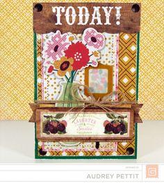 BasicGrey | Herbs & Honey | Card | Audrey Pettit