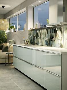 KALLARP ladefront | IKEA IKEAnl IKEAnederland METOD serie keuken inspiratie wooninspiratie interieur wooninterieur koken eten diner kast keukenkast kasten keukenkasten opberger opbergen stijlvol modern hoogglans