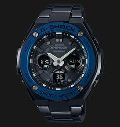 Beli jam tangan Casio G-Shock GST-S110BD-1A2DR Tough Solar Stainless Steel Band…