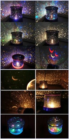 Multi Colors Starry Star Master Gift Led Unique Design Projector Night Light