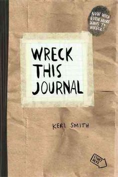The special limited edition paper bag cover of the international bestseller For anyone who's ever had trouble starting, keeping, or finishing a journal or sketchbook comes this expanded edition of Wre