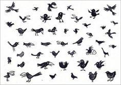 vogeltjes voor trashures