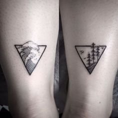 unique Tattoo Trends - Mens Triangle Nature Simple Wave Back Of Leg Tattoos. - unique Tattoo Trends - Mens Triangle Nature Simple Wave Back Of Leg Tattoos. unique Tattoo Trends - Mens Triangle Nature Simple Wave Back Of Leg Tat. 12 Tattoos, Trendy Tattoos, Unique Tattoos, Body Art Tattoos, Tattoos For Guys, Mini Tattoos, Simple Mens Tattoos, Tattoo For Couples, Wave Tattoos