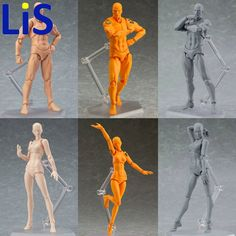 12.00$  Watch now - http://alicag.shopchina.info/1/go.php?t=32802556708 - Lis Anime Brinquedos BANDAI Tamashii Nations PVC Body Action Figure Collectible Model Doll Figma Female Male Body Chan Figures 12.00$ #aliexpressideas