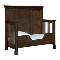 Stone & Leigh Chelsea Square Built To Grow Toddler Bed Kit in Raisin  ** crib sold separately **