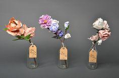#houseofdisplay | Freshly Picked Paper Flowers on #decor8
