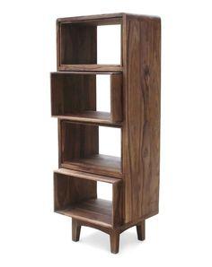 Retro Book Rack by OBUZI - Multifunctional bookshelf