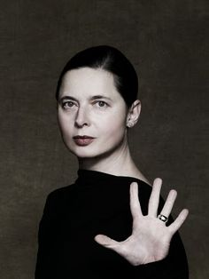 But I don't really see myself as a role model. I'm not a dictator, or someone who wants to be adored! Isabella Rossellini