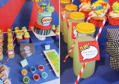 Party Ideas for Boys | Superhero