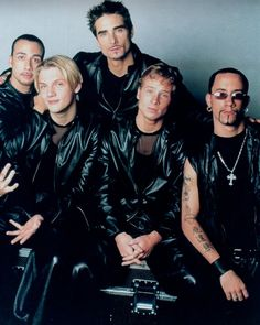 Backstreet Boys- yup my loves of the past!! Haha! Don't hate!