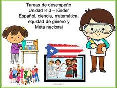 Tareas de desempeo Unidad K.3 Kindergarten71 pginas de actividadesEscritura…