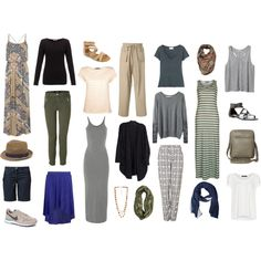 Middle East Travel Capsule Wardrobe