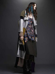 Love the layering idea. But I would use all black and layer different textures rater than colours.
