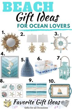 20 Coastal Gift Ideas For Beach Lovers. Find the perfect gift with these beach gift ideas for ocean lovers. 20 Coastal Gift Ideas For Beach Lovers. Find the perfect gift with these beach gift ideas for ocean lovers. Unique Gifts For Girls, Cool Gifts For Women, Gifts For Teens, Family Christmas Gifts, Diy Holiday Gifts, Housewarming Gifts For Men, Beach Gifts, Boyfriend Gifts, Coastal