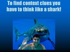 This power point will give the students strategies for using context clues in a fun and interesting way.