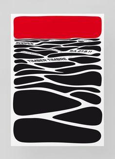 Graphic Design / Südpol 11/12 2 Color Woodcut