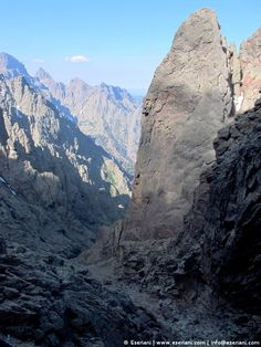 The Cirque de la Solitude is both an amazing and terrifying experience - The GR20 in Corsica is one of the Europe's finest mountain walk that offers spectacular sceneries and an amazing experience. The route traverses Corsica diagonally from north to south through jagged peaks and rocky paths.
