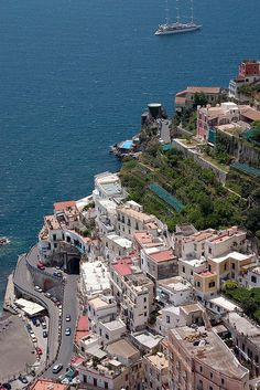 View from Ravello, Amalfi Coast .  Gorgeous but scary, narrow roads.