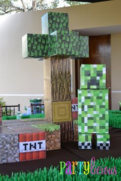 Partylicious: {Minecraft Birthday Party} I want a minecraft birthday party and I am almost 23!!