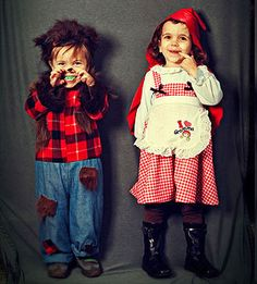 big bad wolf and little red riding hood, Halloween Costume