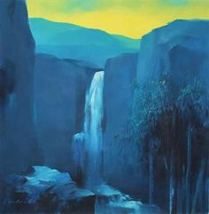 'Andean Dawn' (2010) - Impressionist Landscape Painting
