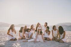 bride and friends :: inês