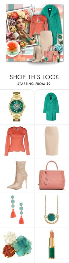 """SEASIDE COLORS IN WINTER"" by angelflair ❤ liked on Polyvore featuring Trilogy, JBW, MATE Official, M Missoni, WtR, WithChic, Fendi, Panacea, Zad and Balmain"
