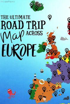 eurotrip route