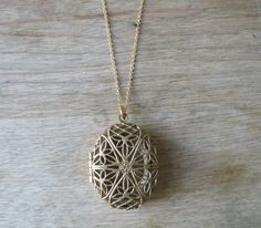 Perfume Locket by JulieNolan on Etsy, $70.00