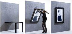 tv embutida na parede | Preço de Mesa embutida na parede