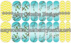 Flutter Nail Wrap - contact me to order  amycoombs.jamberry.com