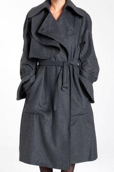 Diana Orving: Trenchcoat, Sweden.